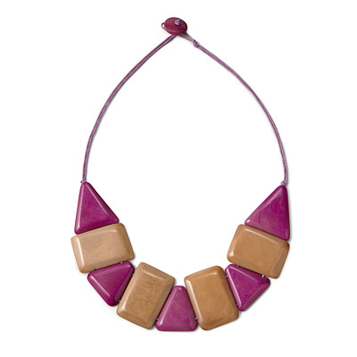 GEOMETRIC TAGUA NECKLACE