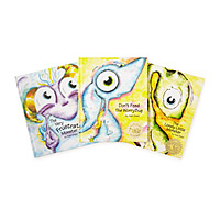 Little Monster and Worry Bug Books - Set of 3