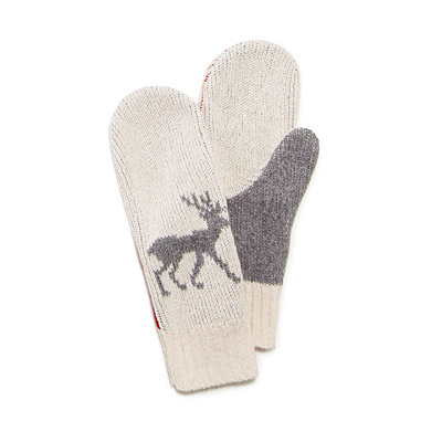 DEER TO BE DIFFERENT MITTENS