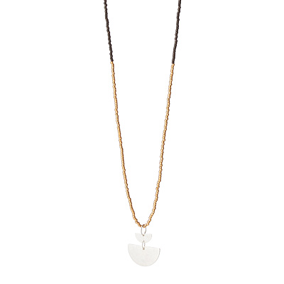 SEMI NECKLACE - GOLD