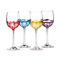 Rumba Wine Glasses - Set of 4