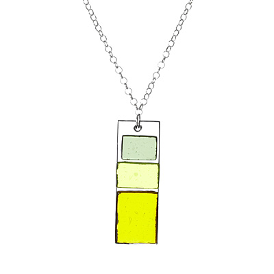 BLOCK GLASS PENDANT
