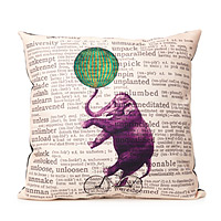 Circus Elephant Pillow