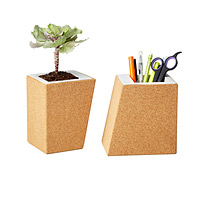 Cork Planters - Set of 2