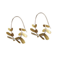 FERN FROND EARRINGS
