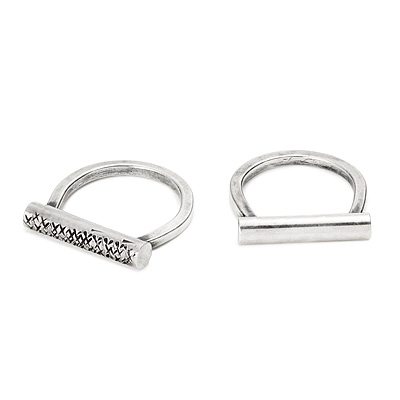 HORSESHOE BAR RINGS