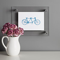 Letterpress Bicycle