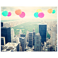 Balloons Over Central Park