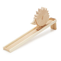 Wooden Hedgehog Walking Toy