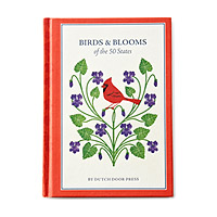 BIRDS AND BLOOMS OF THE 50 STATES