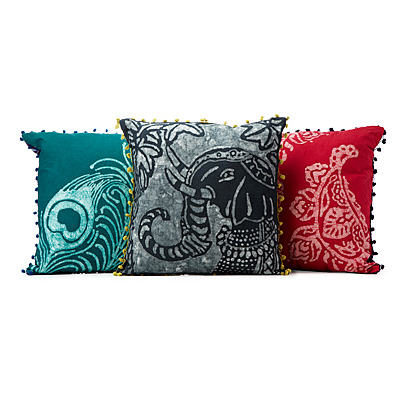 HANDMADE BATIK PILLOWS