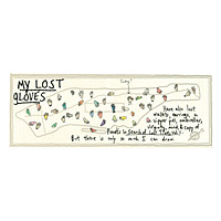 MAPPING MANHATTAN- LOST GLOVES