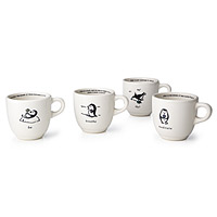 Zenguin Mugs - Set of 4