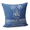 Dog Blueprint Pillows
