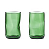 Upcycled Glass Tumblers - Set of 2