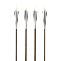 Garden Torches - Set of 4