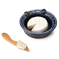 Brie Plate with Knife