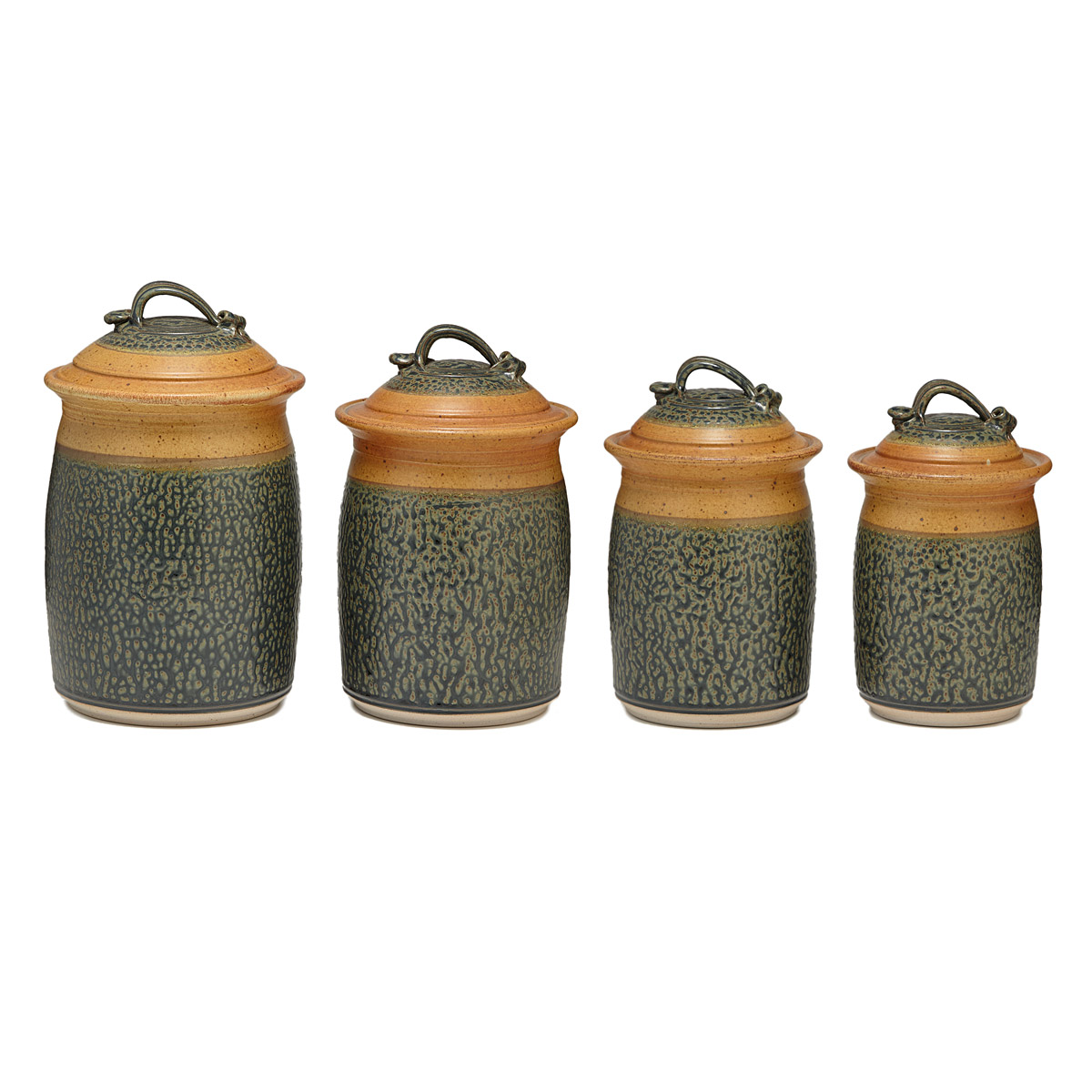 stoneware canister set kitchen storage jars uncommongoods stoneware kitchen canisters kitchen canister set