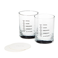 Good Grief Glasses - Set of 2