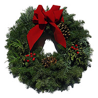 Oregon Fresh Holiday Wreath