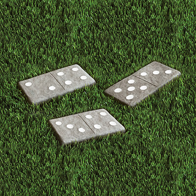 DOMINOES STEPPING STONES SETS