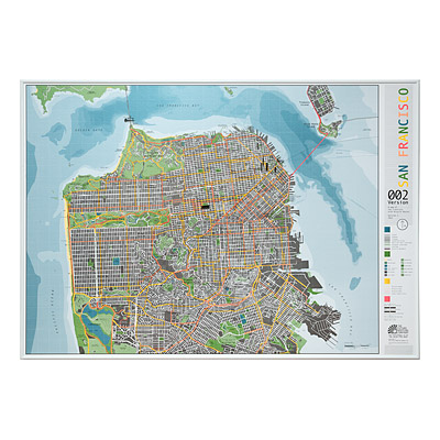 SAN FRANCISCO MAGNETIC MAP