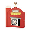 Personalized Barn Baby Keepsake Box