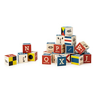 Nautical Alphabet Blocks