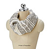 LITERARY SCARVES | Book Lover Infinity Scarf | UncommonGoods