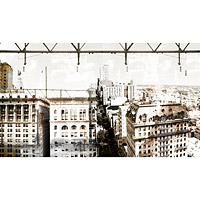 Midtown Vantage Photographic Wallpaper Scene