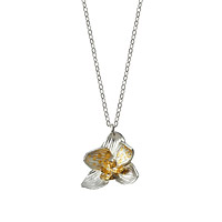 Blooming Orchid Necklace