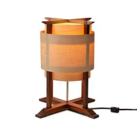 Wooden Wrap Lamp