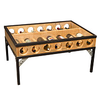 Wine Display Coffee Table
