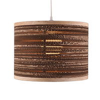 Corrugated Cardboard Hanging Lamp