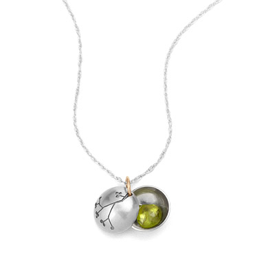 BUDDING BRANCH LOCKET