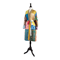 Upcycled Sari Lounge Robe - Silk