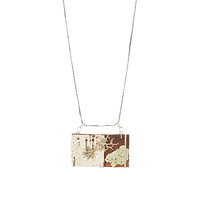 MOSSY BIRCH NECKLACE