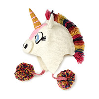 Hand Crocheted Unicorn Hat