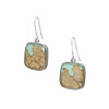 Mushroom Bark Earrings