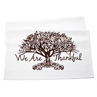 Give Thanks Table Banner