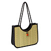 Hand Loomed Sea Grass Collapsing Handbag