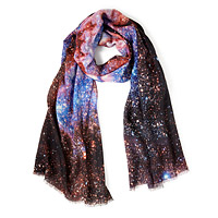 Cat's Paw Nebula Lightweight Wool Scarf