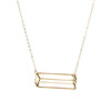 3D Rectangle Necklace