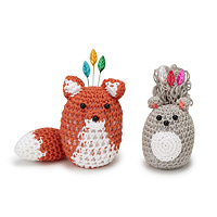 Woodland Animal Pincushions