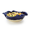 Ocean Wave Ruffle Serving Bowl