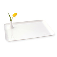 Tray with Vase