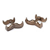 Stainless Steel Moustache Cufflinks
