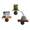 Reclaimed Barn Wood Shelves - Set of 3