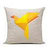 Origami Bird Pillow