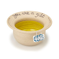 You are a gift earring bowl
